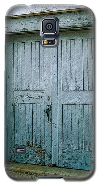 Blue Doors On Brewer Street Galaxy S5 Case