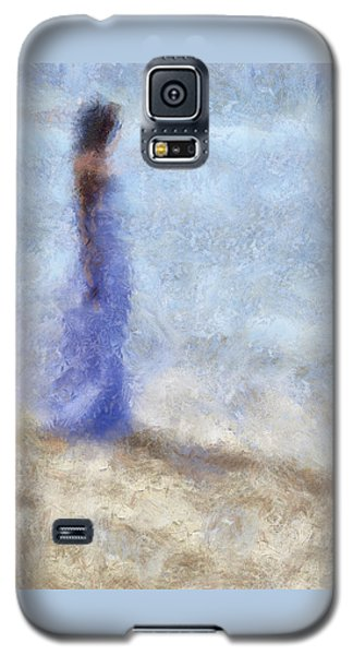 Blue Dream. Impressionism Galaxy S5 Case by Jenny Rainbow
