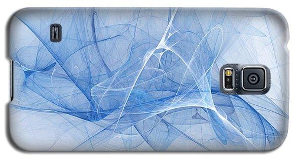 Blue Galaxy S5 Case by Elizabeth McTaggart