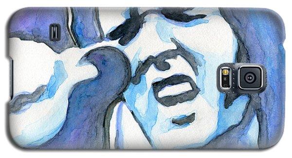 Blue Elvis Galaxy S5 Case