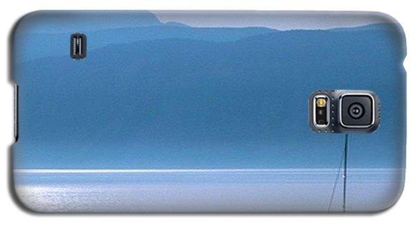Colorful Galaxy S5 Case - Blue by Emanuela Carratoni