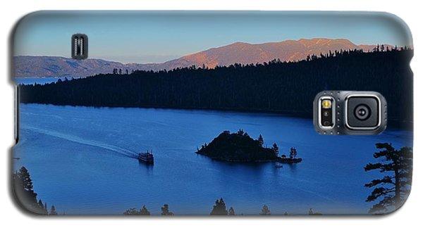 Blue Emerald Bay Lake Tahoe Galaxy S5 Case