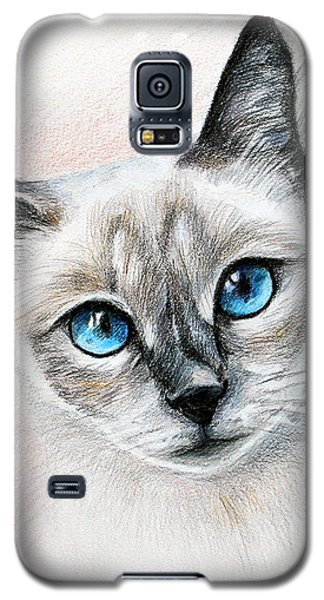 Blue Eyes Galaxy S5 Case