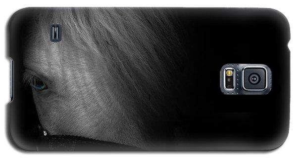 Blue Eyes Galaxy S5 Case by Shane Holsclaw