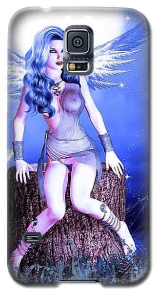 Blue Fairy Galaxy S5 Case