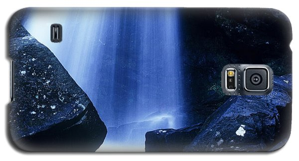 Galaxy S5 Case featuring the photograph Blue Falls by Rodney Lee Williams