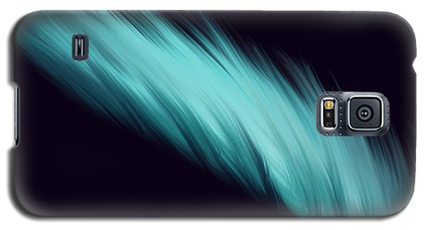 Blue Feather Galaxy S5 Case