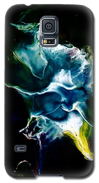 Blue Firefly Abstract Galaxy S5 Case