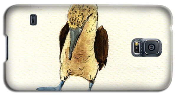 Blue Footed Booby Galaxy S5 Case by Juan  Bosco