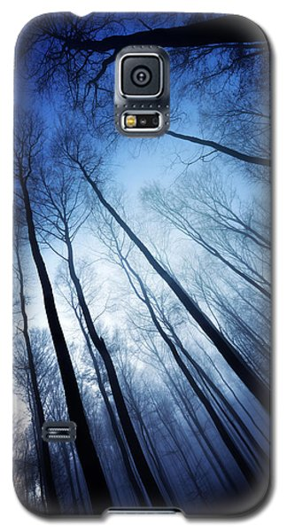 Galaxy S5 Case featuring the photograph Blue Forest by Philippe Sainte-Laudy