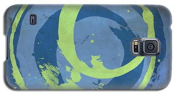 Blue Green 7 Galaxy S5 Case by Julie Niemela