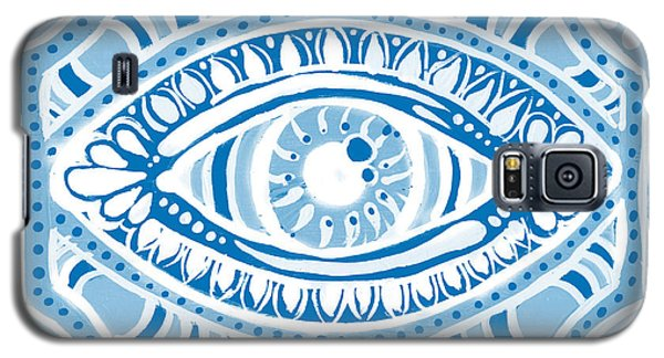 Blue Gypsis Eye Galaxy S5 Case