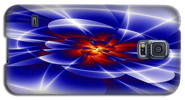 Blue Galaxy S5 Case by Hai Pham