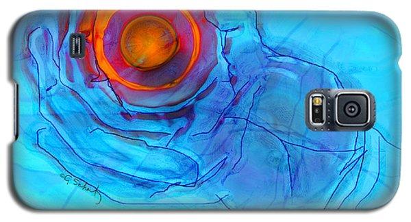 Blue Hand Galaxy S5 Case by Gabrielle Schertz