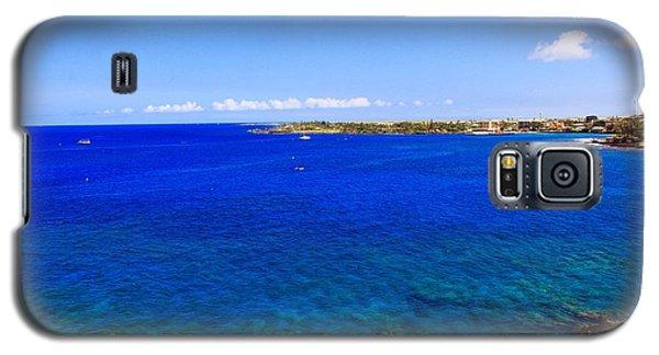 Blue Hawaiii Galaxy S5 Case by Athala Carole Bruckner