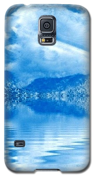 Blue Healing Galaxy S5 Case