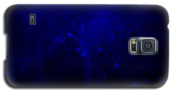Blue Hearts Galaxy S5 Case by Beverly Stapleton