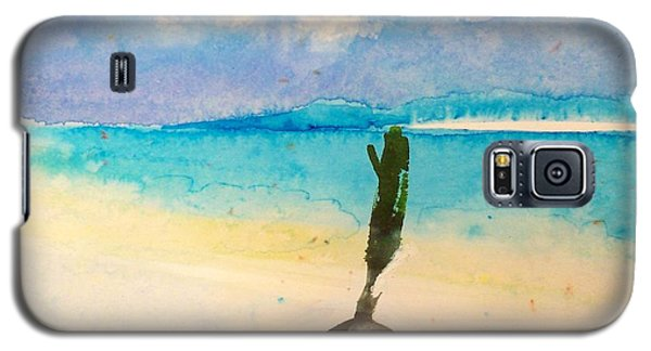 Galaxy S5 Case featuring the painting Blue Heaven by Ed  Heaton