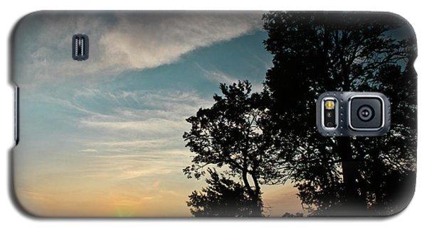 Blue Heaven Sunset Galaxy S5 Case