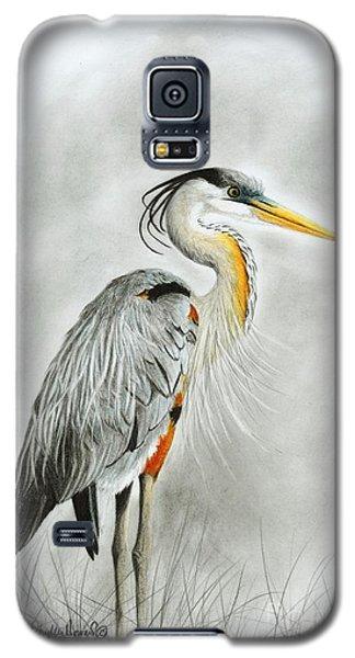 Blue Heron 3 Galaxy S5 Case