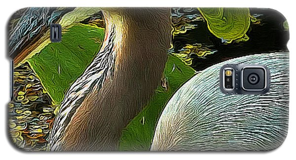 Blue Heron Addict Galaxy S5 Case by Jim Pavelle