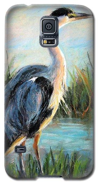 Blue Heron Galaxy S5 Case by Jieming Wang