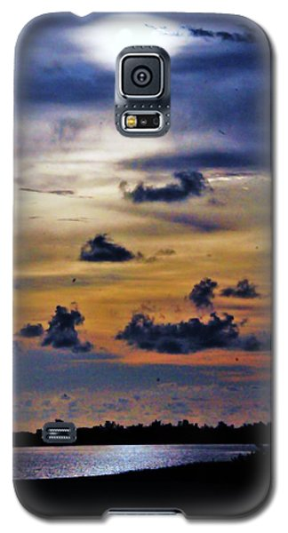 Blue Horizons Galaxy S5 Case by Kicking Bear  Productions