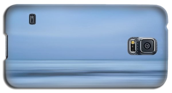 Blue Hour Beach Abstract Galaxy S5 Case by Linda Villers