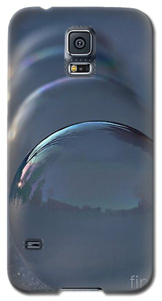 Blue Hour Frozen Bubbles Galaxy S5 Case