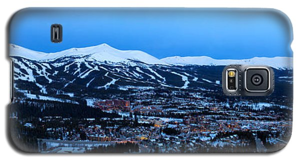 Blue Hour In Breckenridge Galaxy S5 Case by Ronda Kimbrow