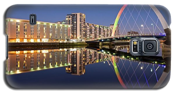Blue Hour In Glasgow Galaxy S5 Case by Stephen Taylor