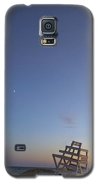 Blue Hour In The Hamptons Galaxy S5 Case by Marianne Campolongo
