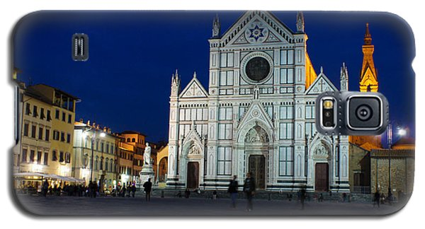 Blue Hour - Santa Croce Church Florence Italy Galaxy S5 Case