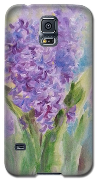 Blue Hyacinth Galaxy S5 Case