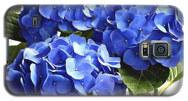 Galaxy S5 Case featuring the photograph Blue Hydrangea by Lehua Pekelo-Stearns