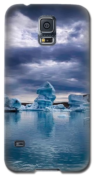 Blue Ice 2 Galaxy S5 Case