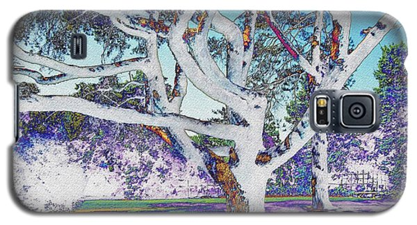 Blue Ice Galaxy S5 Case by Kathie Chicoine