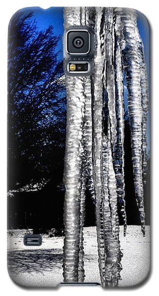 Galaxy S5 Case featuring the photograph Blue Ice by Luther Fine Art