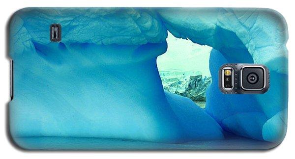 Blue Iceberg Antarctica Galaxy S5 Case by Amanda Stadther