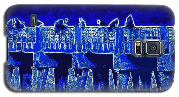 Blue II Toy Sailboats In Lake Worth Galaxy S5 Case by David Mckinney