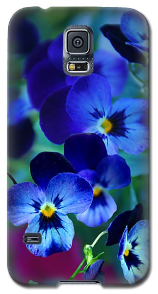 Galaxy S5 Case featuring the photograph Blue Indigo by Judy  Johnson