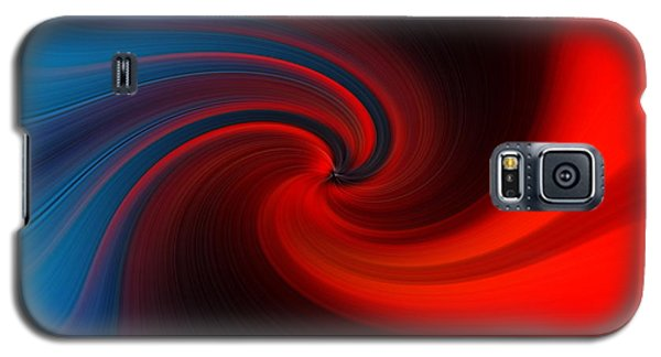 Blue Into Orange Galaxy S5 Case by Trena Mara