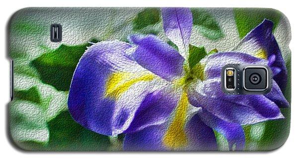 Blue Iris Galaxy S5 Case