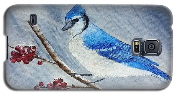 Blue Jay Galaxy S5 Case by Valorie Cross
