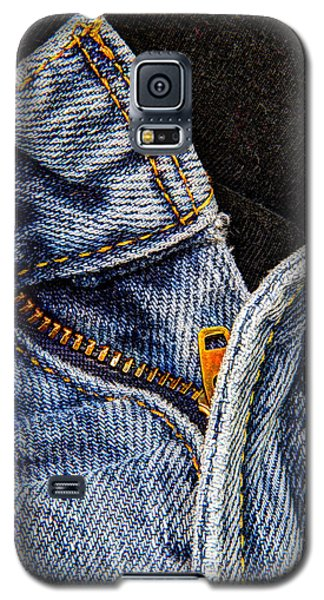 Galaxy S5 Case featuring the photograph Blue Jeans by Wade Brooks