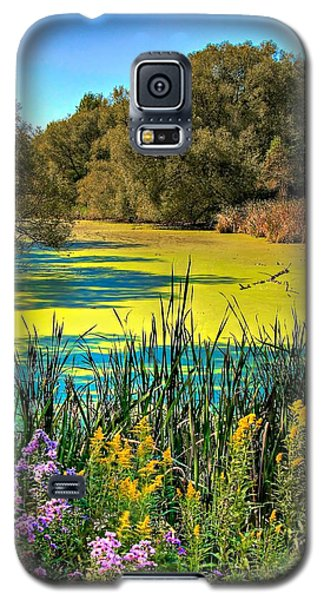 Galaxy S5 Case featuring the photograph Blue Lagoon 2 by Michaela Preston