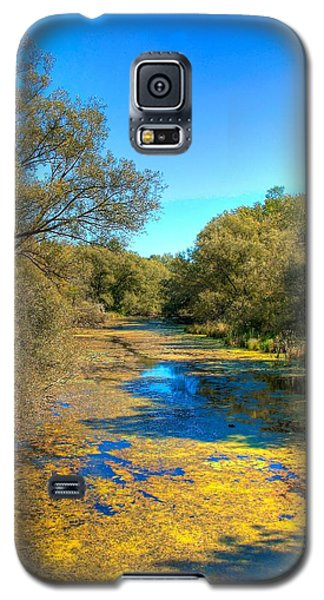 Galaxy S5 Case featuring the photograph Blue Lagoon by Michaela Preston