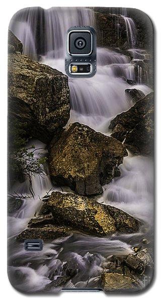 Blue Lake Falls Galaxy S5 Case
