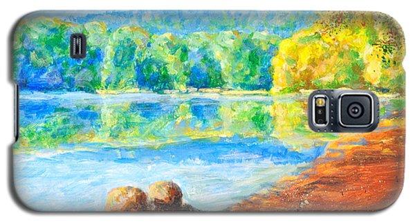 Blue Lake Galaxy S5 Case