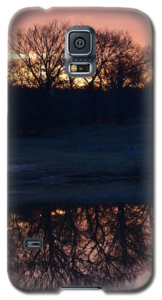 Blue Lake Sunset Xi Galaxy S5 Case